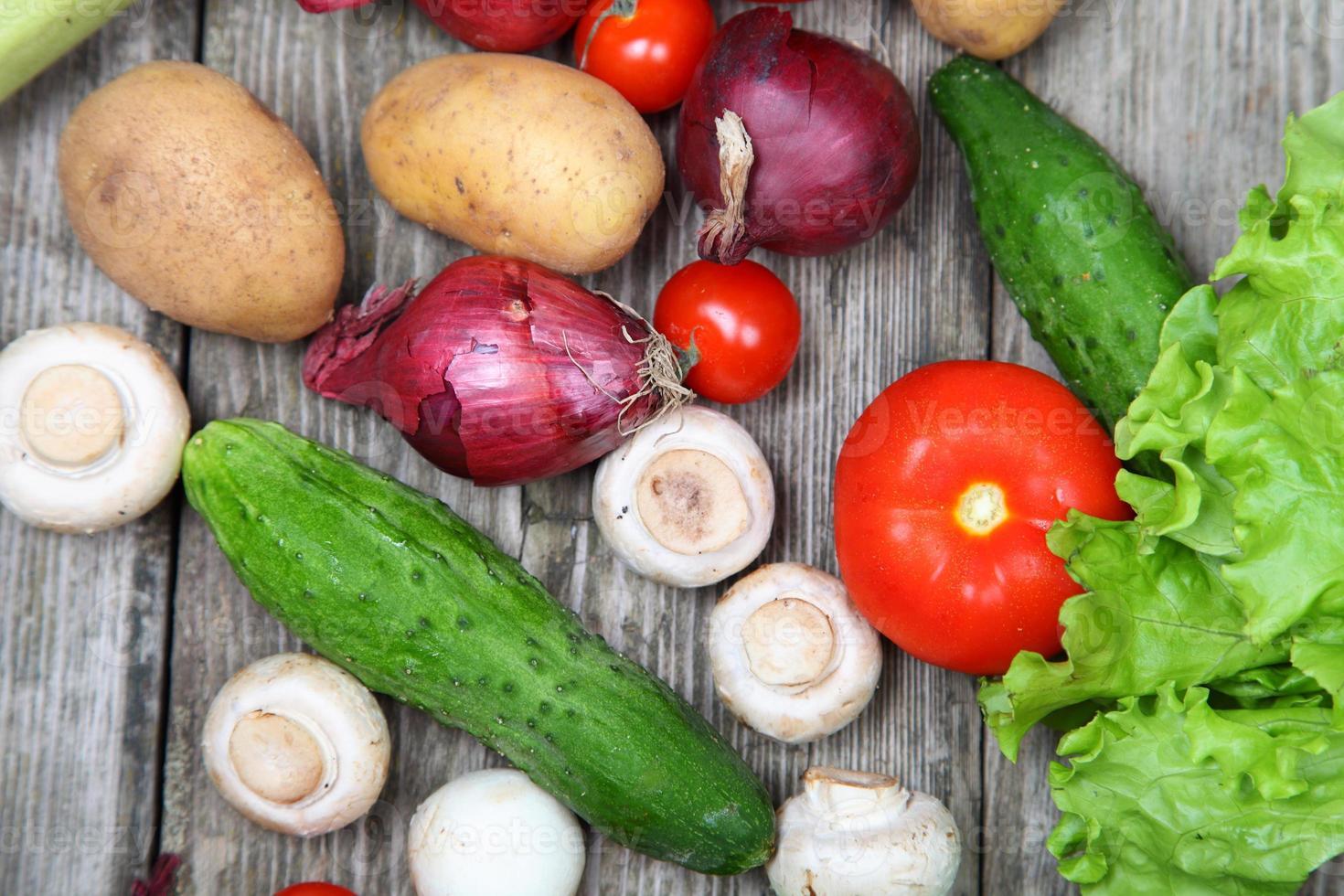 verse groenten foto