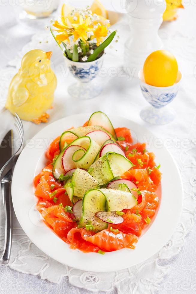 salade voor Pasen foto