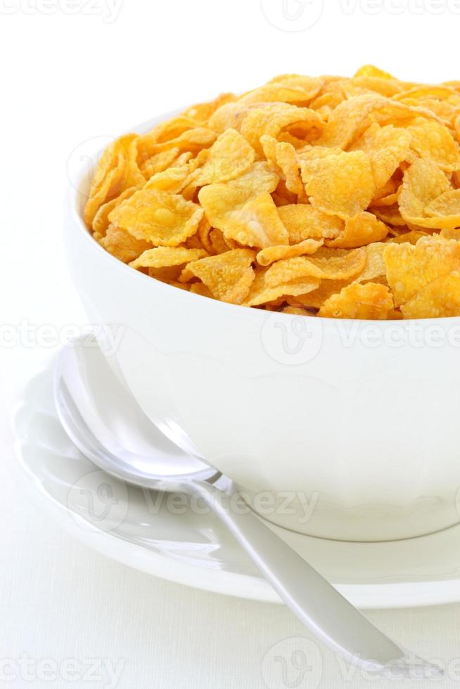 gezond cornflakesontbijt foto
