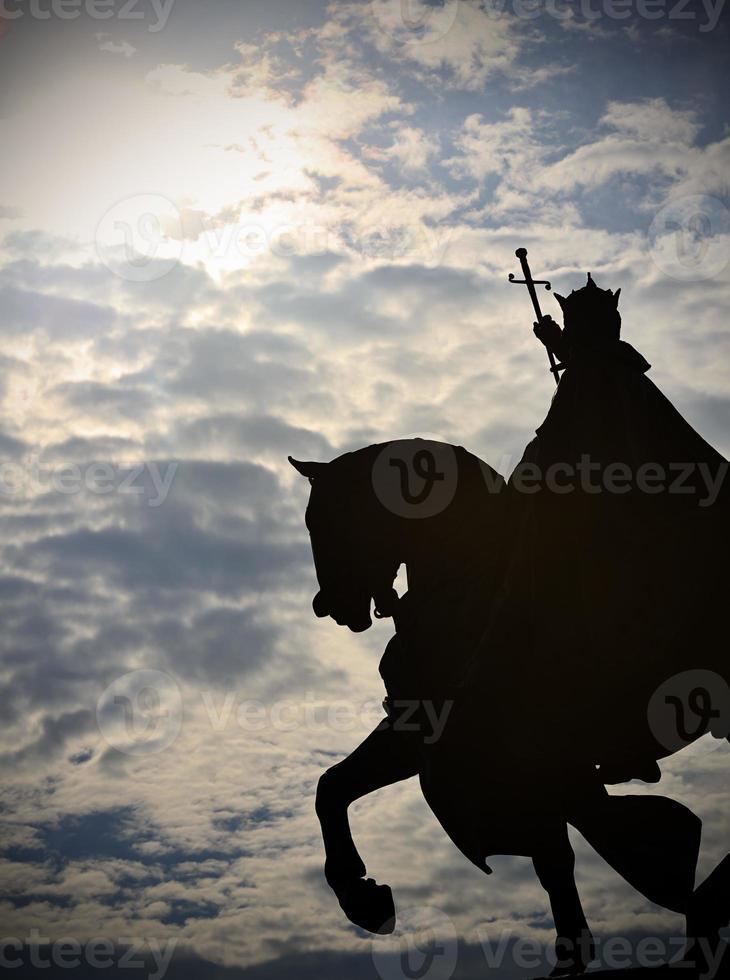 koning louis in st. Louis, mo foto