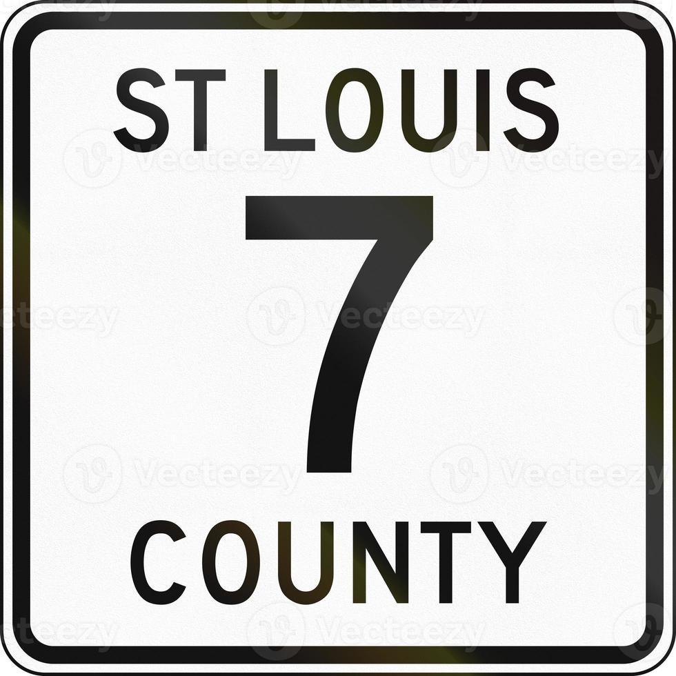 snelweg st louis county foto
