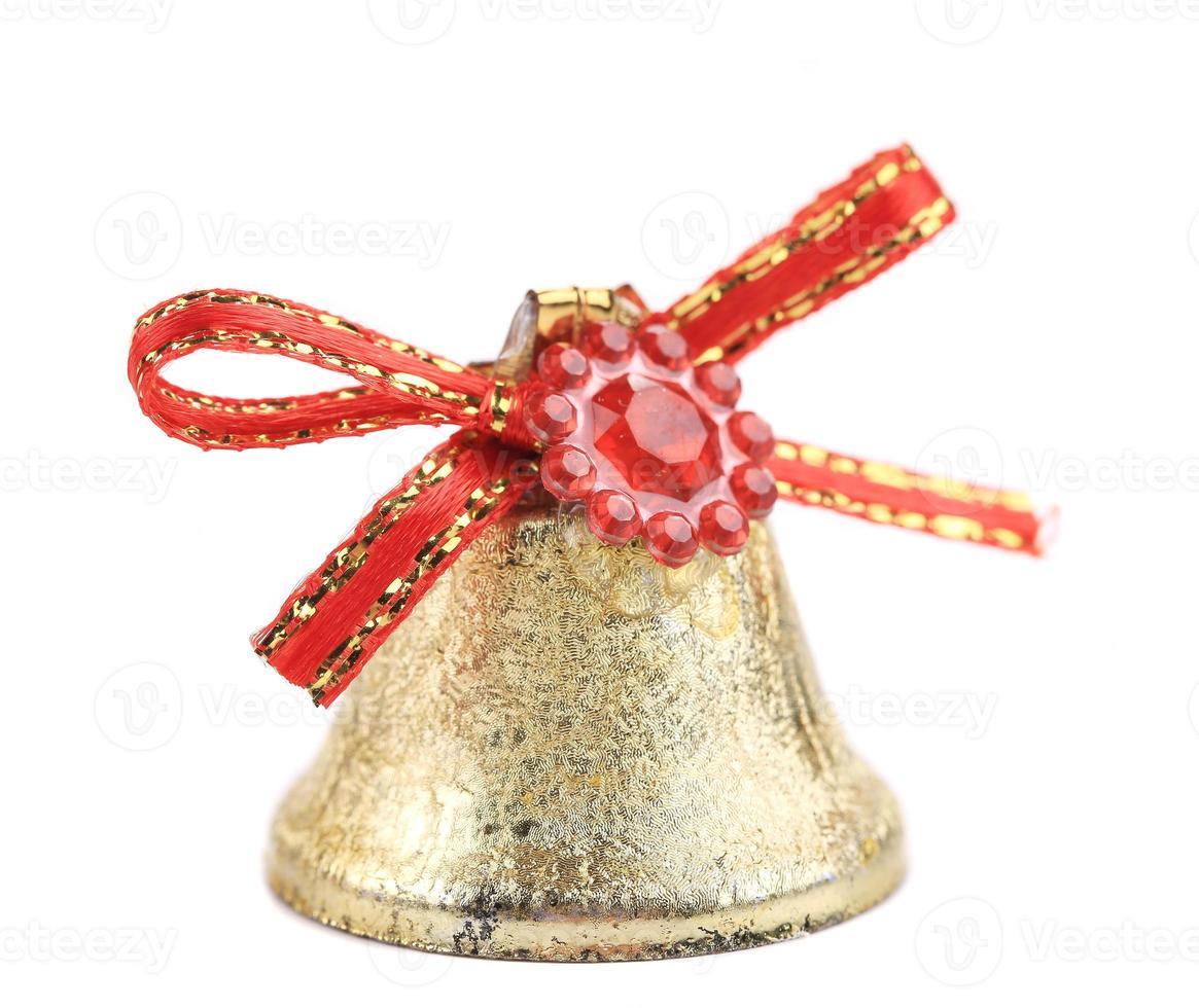 kerst jingle bell voor boom. foto