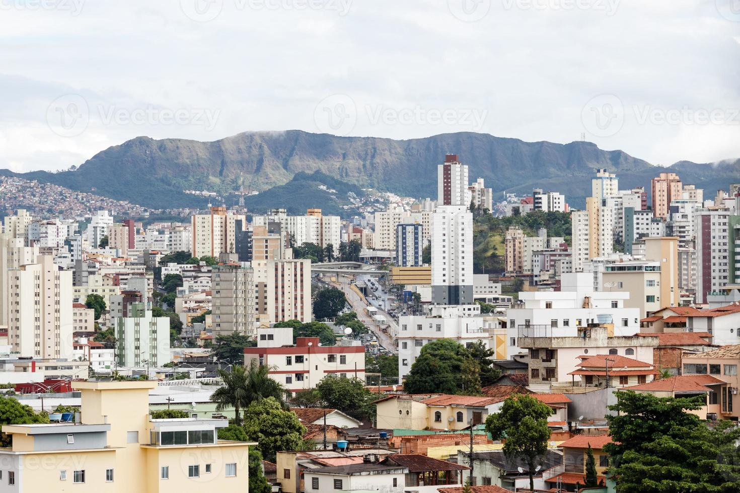 belo horizonte stad, minas gerais, brazilië foto