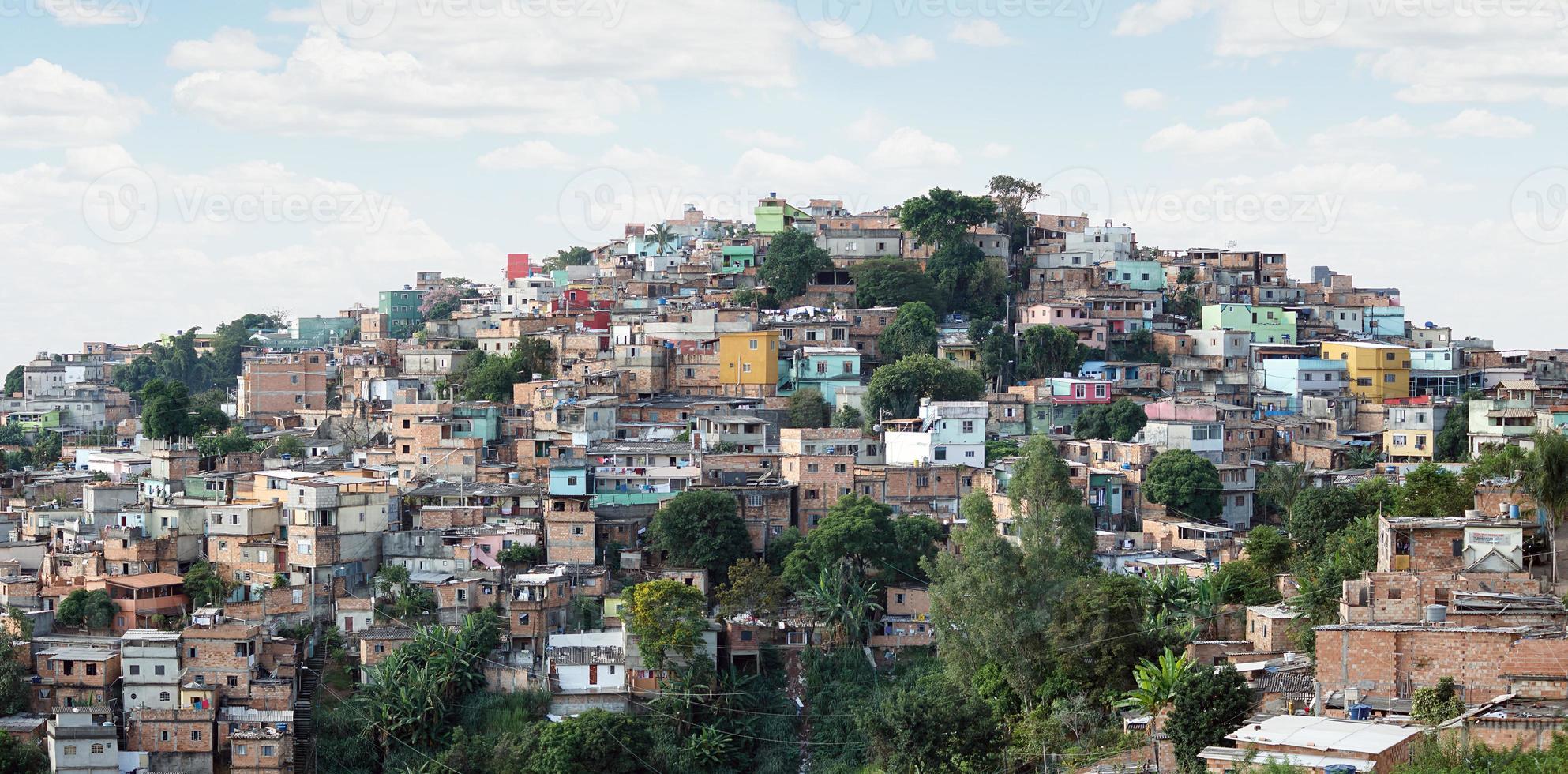 morro do papagaio op belo horizonte, minas gerais, brazilië foto