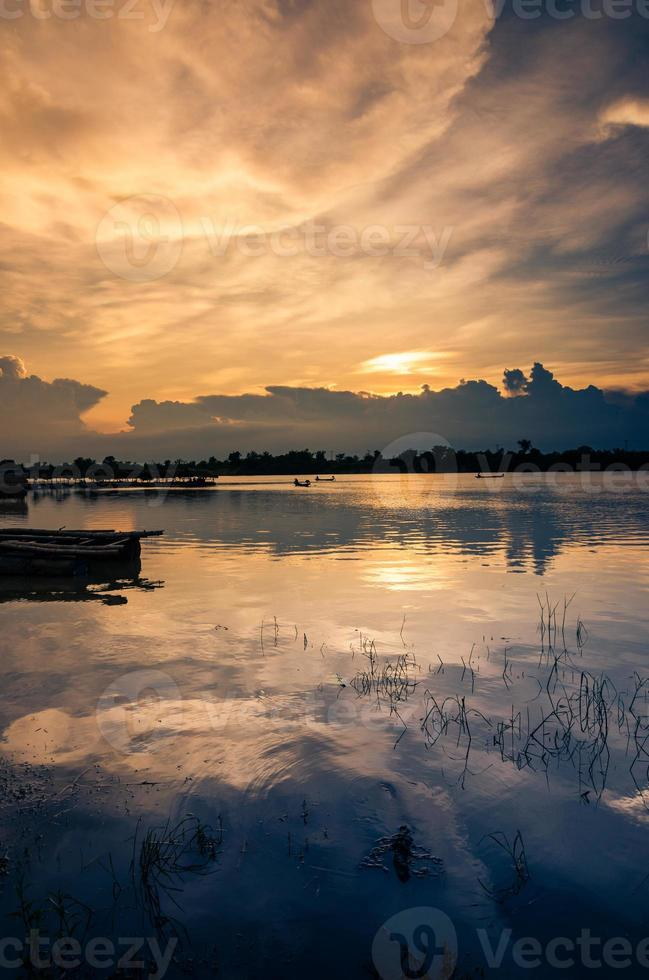 rivier in Thailand foto