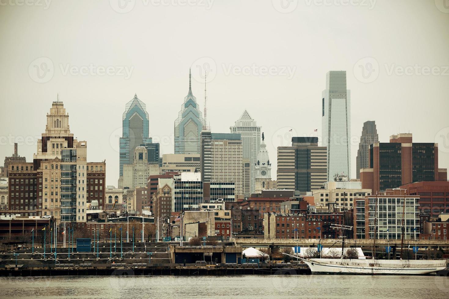 Skyline van Philadelphia foto