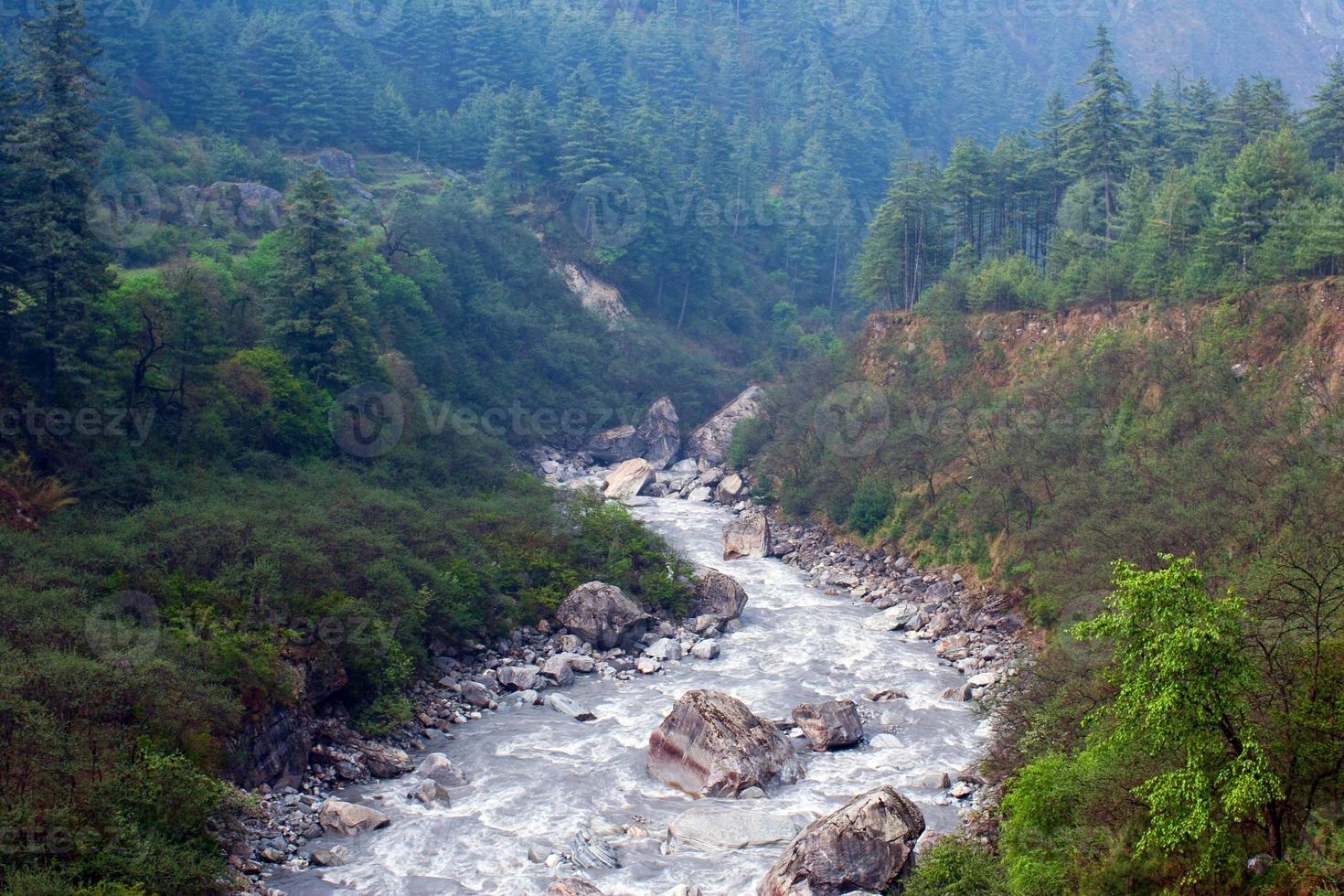 kali gandaki river, nepal foto