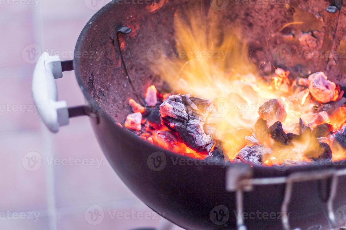 zomer barbecue foto