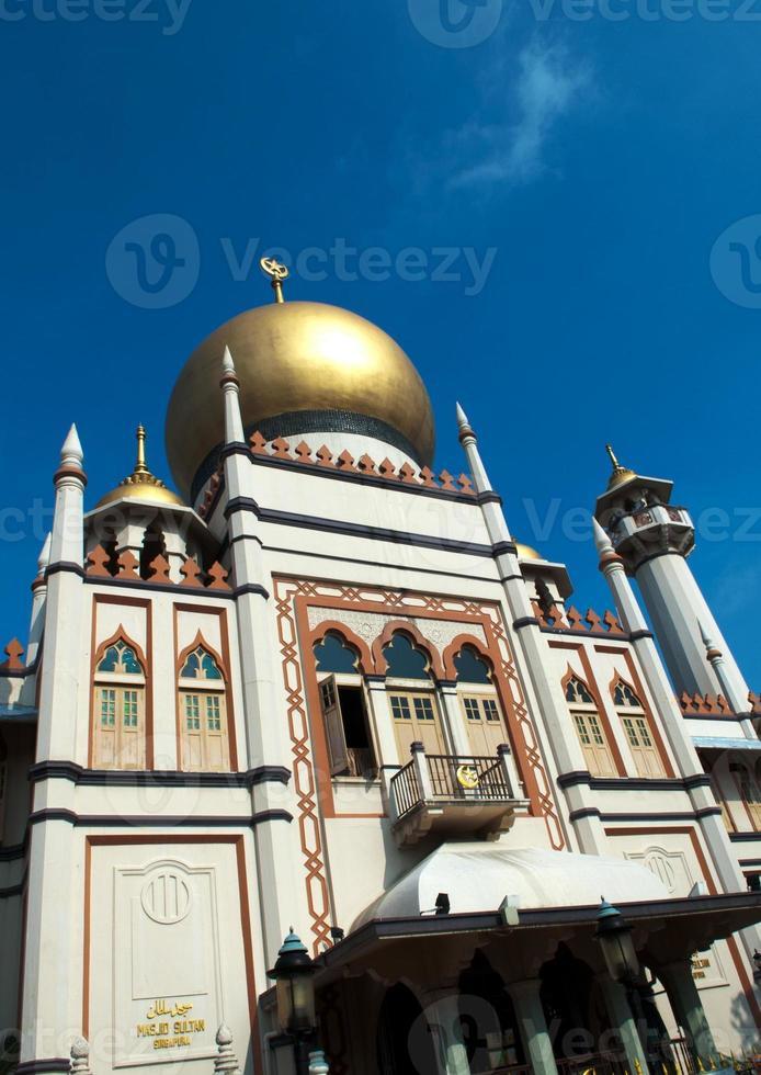 singapore sultan moskee ingang foto