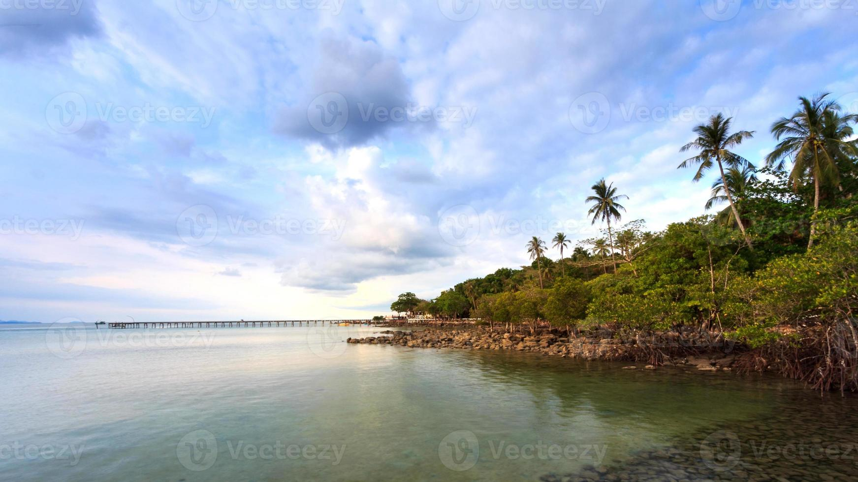 zomer eiland foto