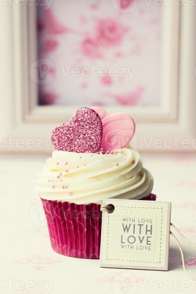 Valentijn cupcake foto