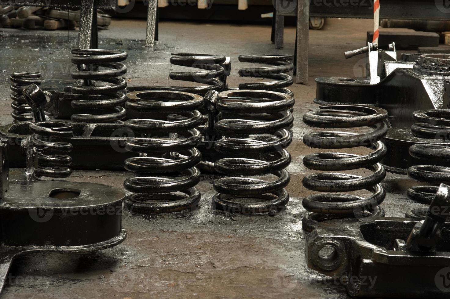 veeraflossingsmechanisme van chassis foto