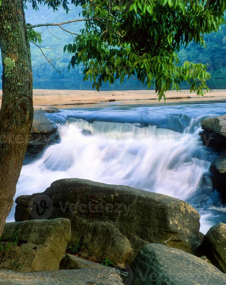 vallei valt in West Virginia foto