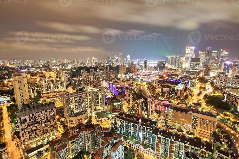 het centrum van singapore foto