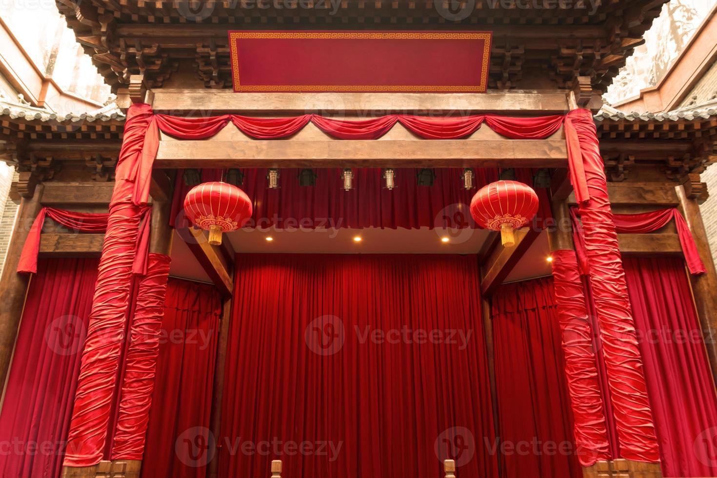 Chinees podium foto