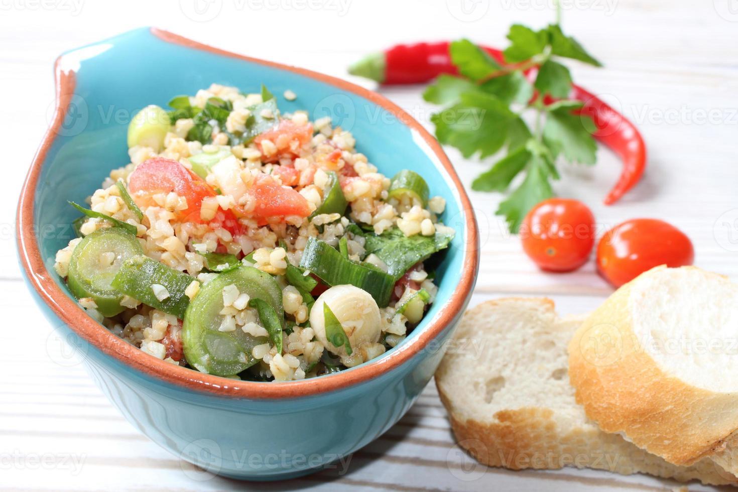 bulgur salade foto