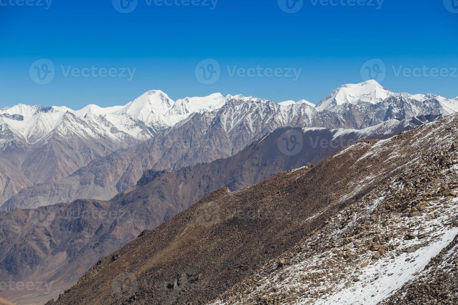 Himalaya-landschap foto