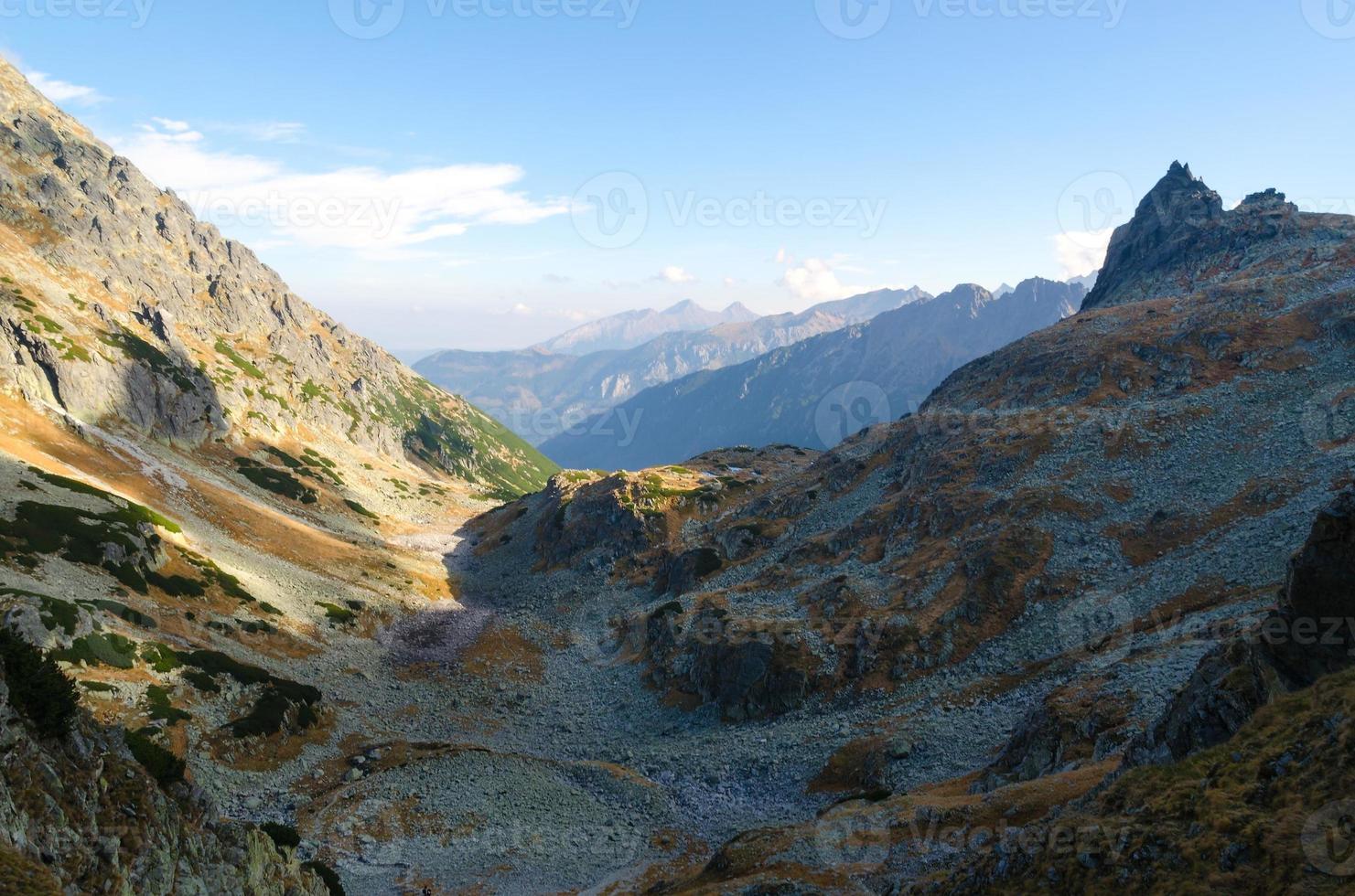 berglandschap. foto