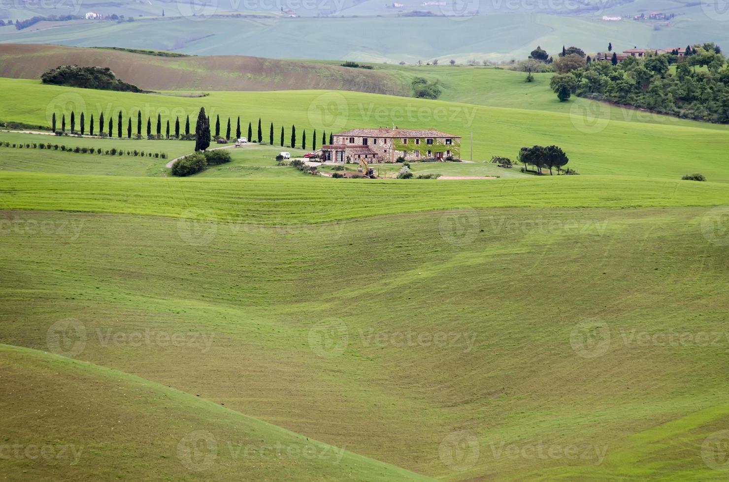 landschap van Toscane foto