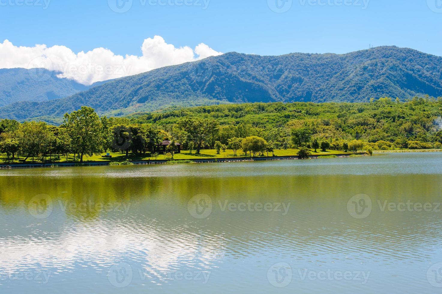 landschap van het meer foto