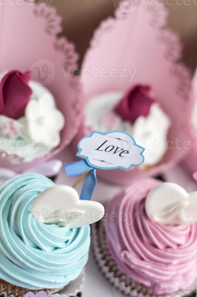 cupcakes voor valentijn foto