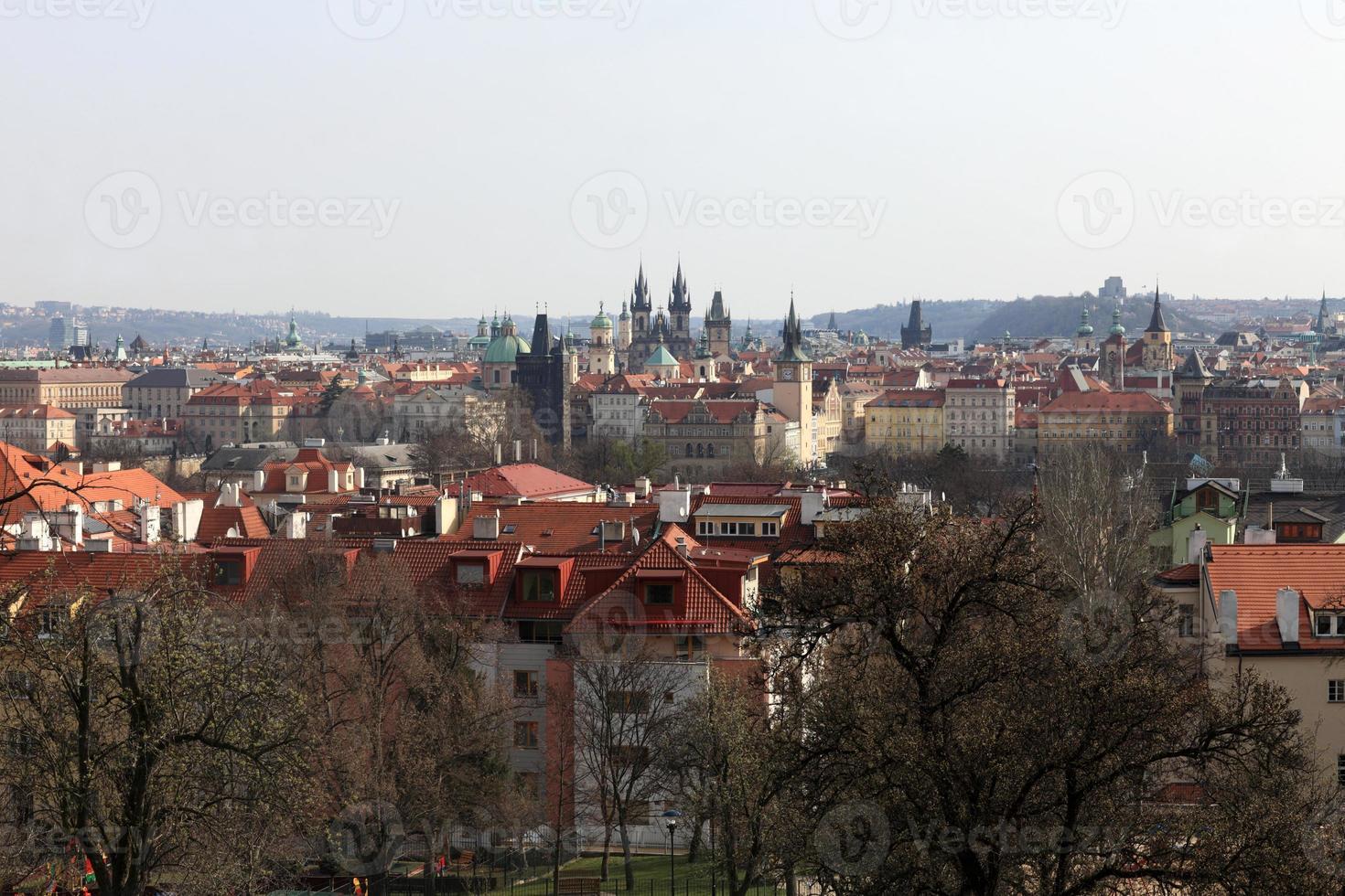 st. vitus kathedraal landschap foto
