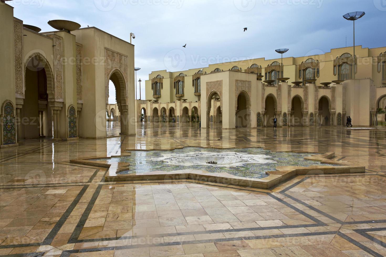 hassan ii-moskee in casablanca foto