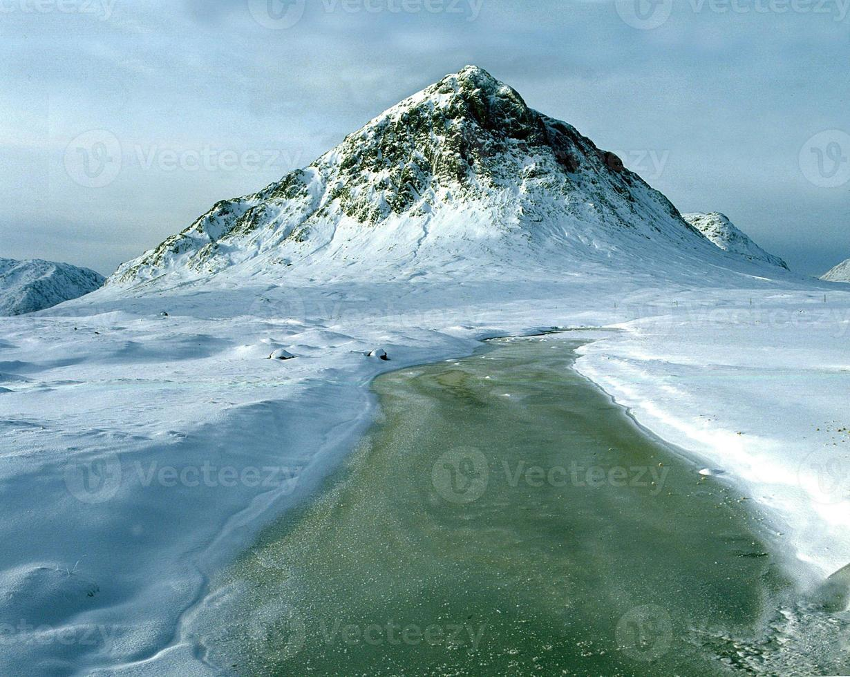buchaille etive mor winter foto