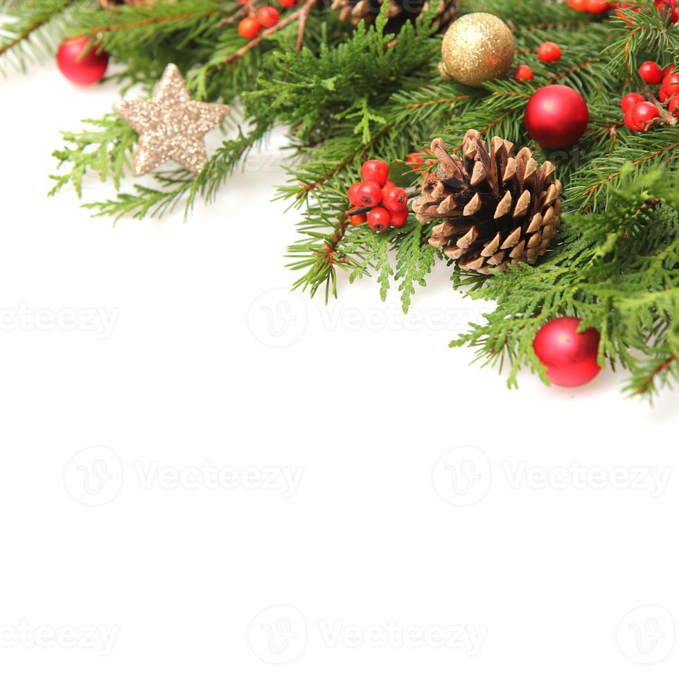 winter of kerst achtergrond foto
