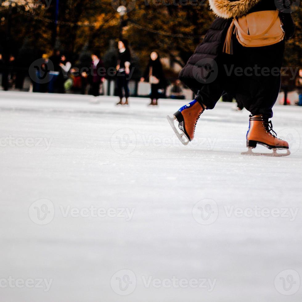 schaatsen foto