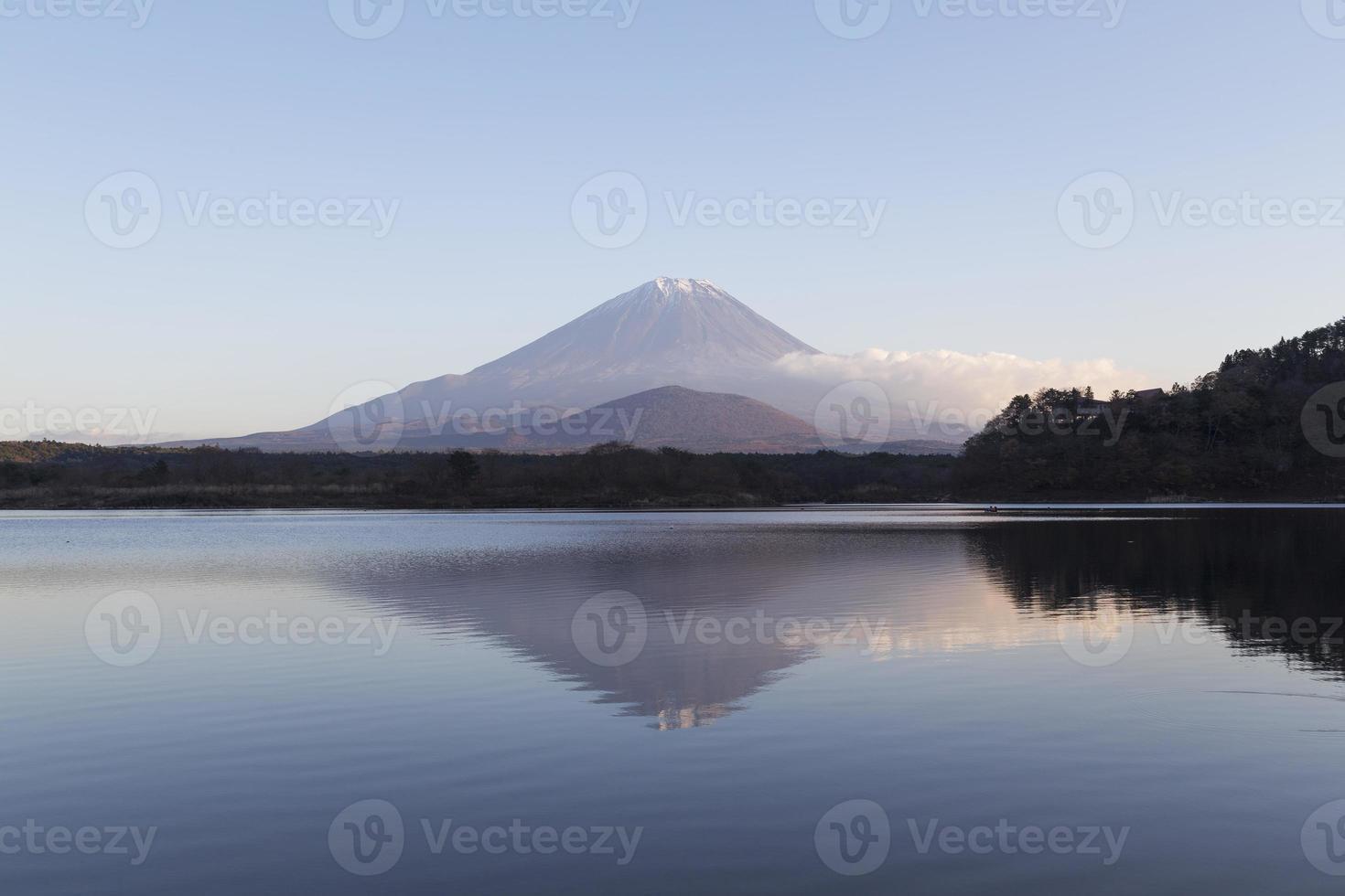 mt.fuji in de herfst, Japan foto