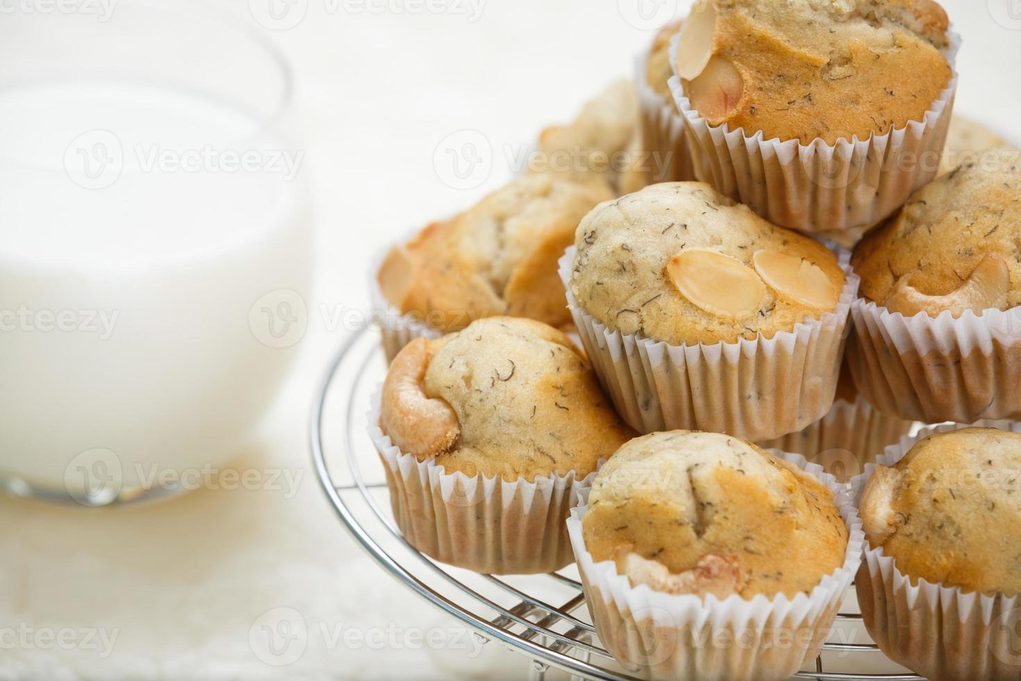 banaan muffin foto
