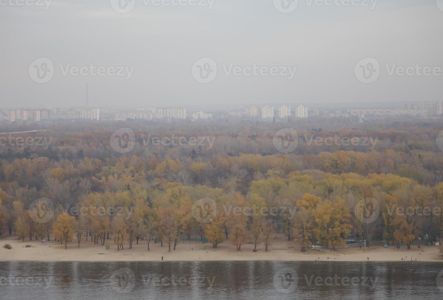 panorama van Kiev foto