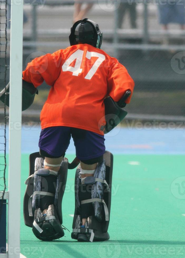 hockey keeper foto