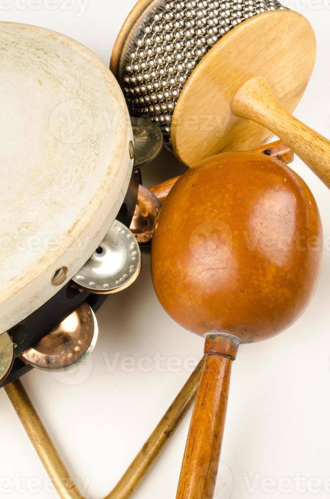 kleine percussie-instrumenten foto