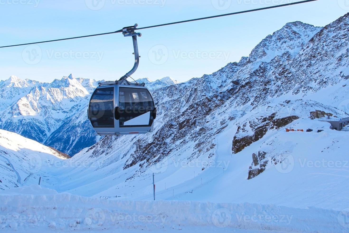skilift in bergen foto