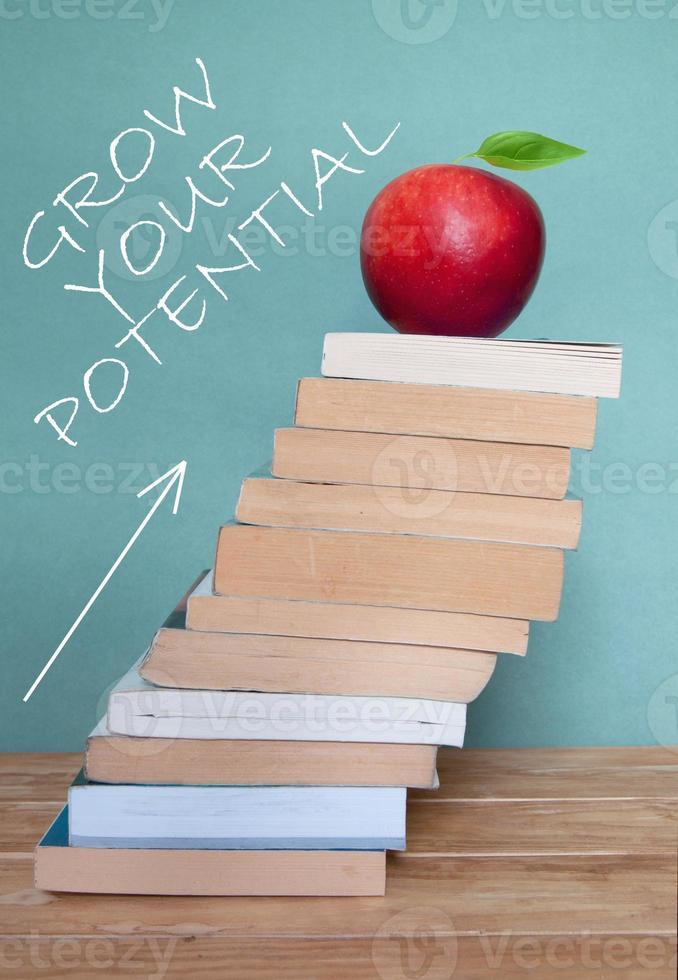 onderwijs is succes foto