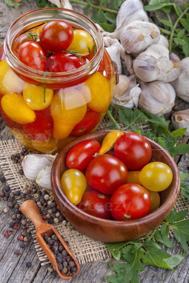 ingeblikte tomaat foto