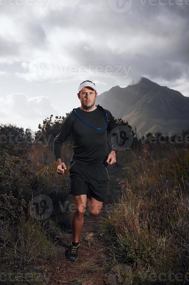 gezonde trailrunning foto