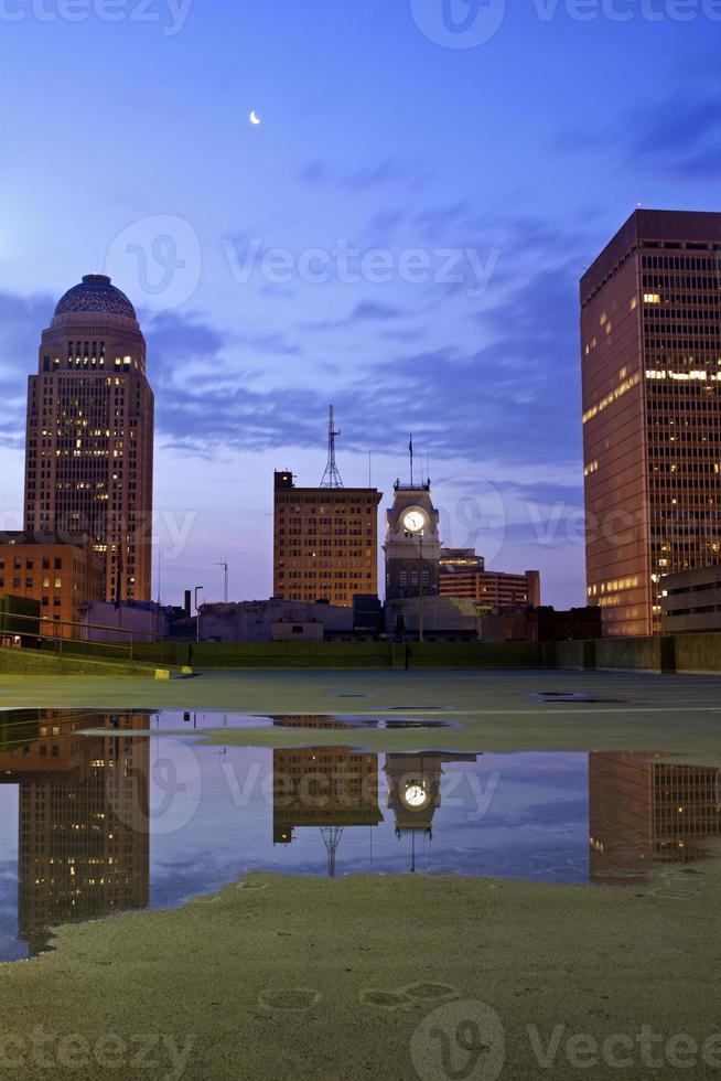 het centrum van Louisville foto