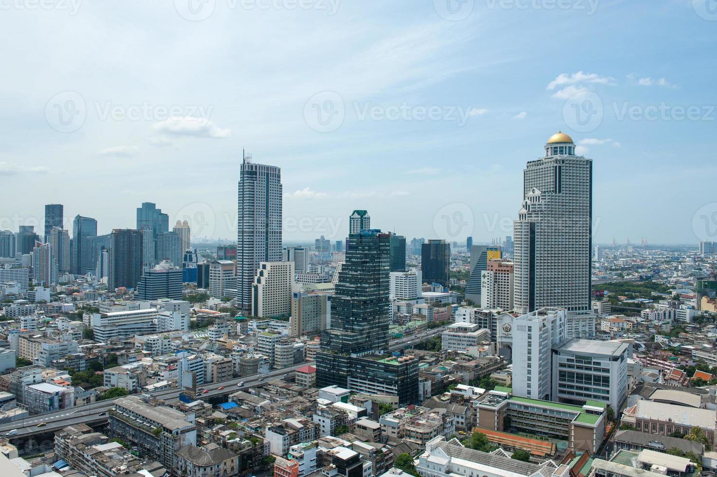 stadsgezicht van bangkok 01 foto