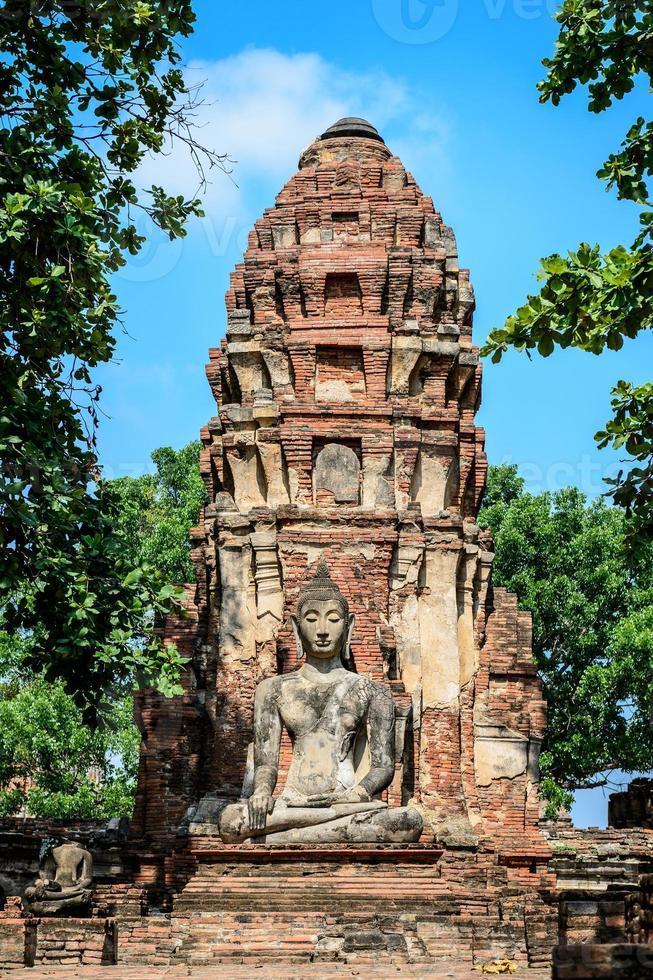 oude ruïnes, thailand foto