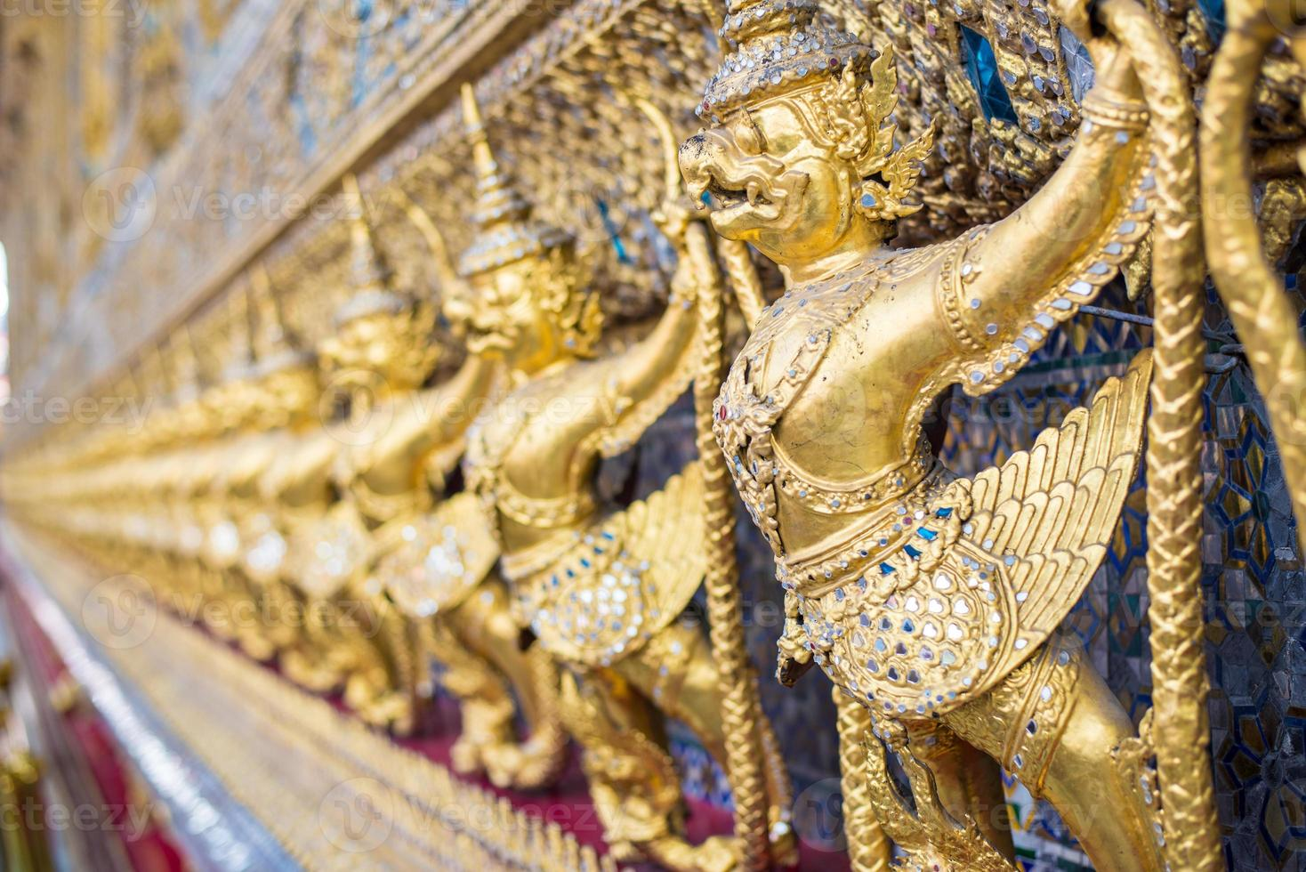 garuda sculptuur, bangkok, thailand foto