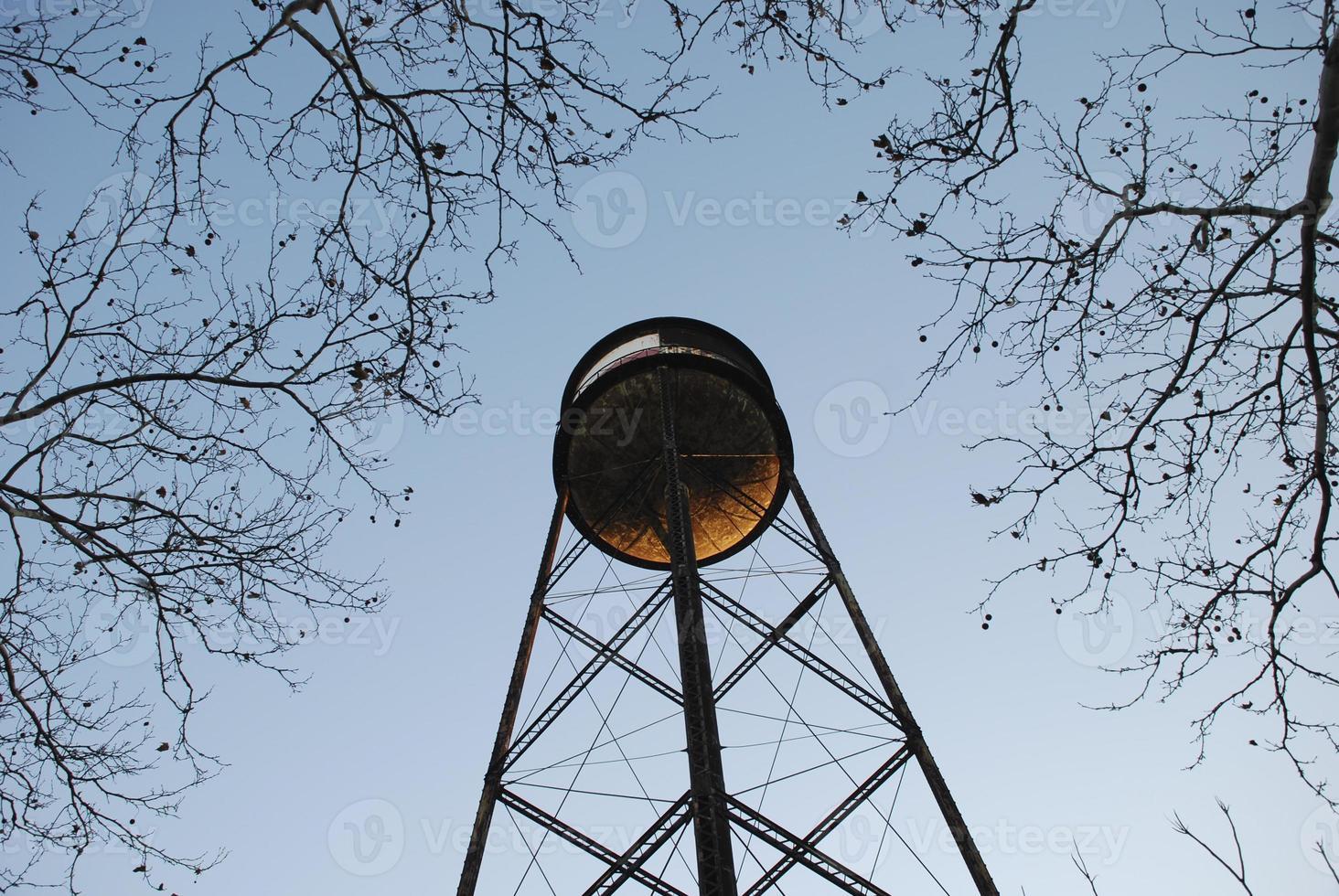 watertoren in Brooklyn, NY foto