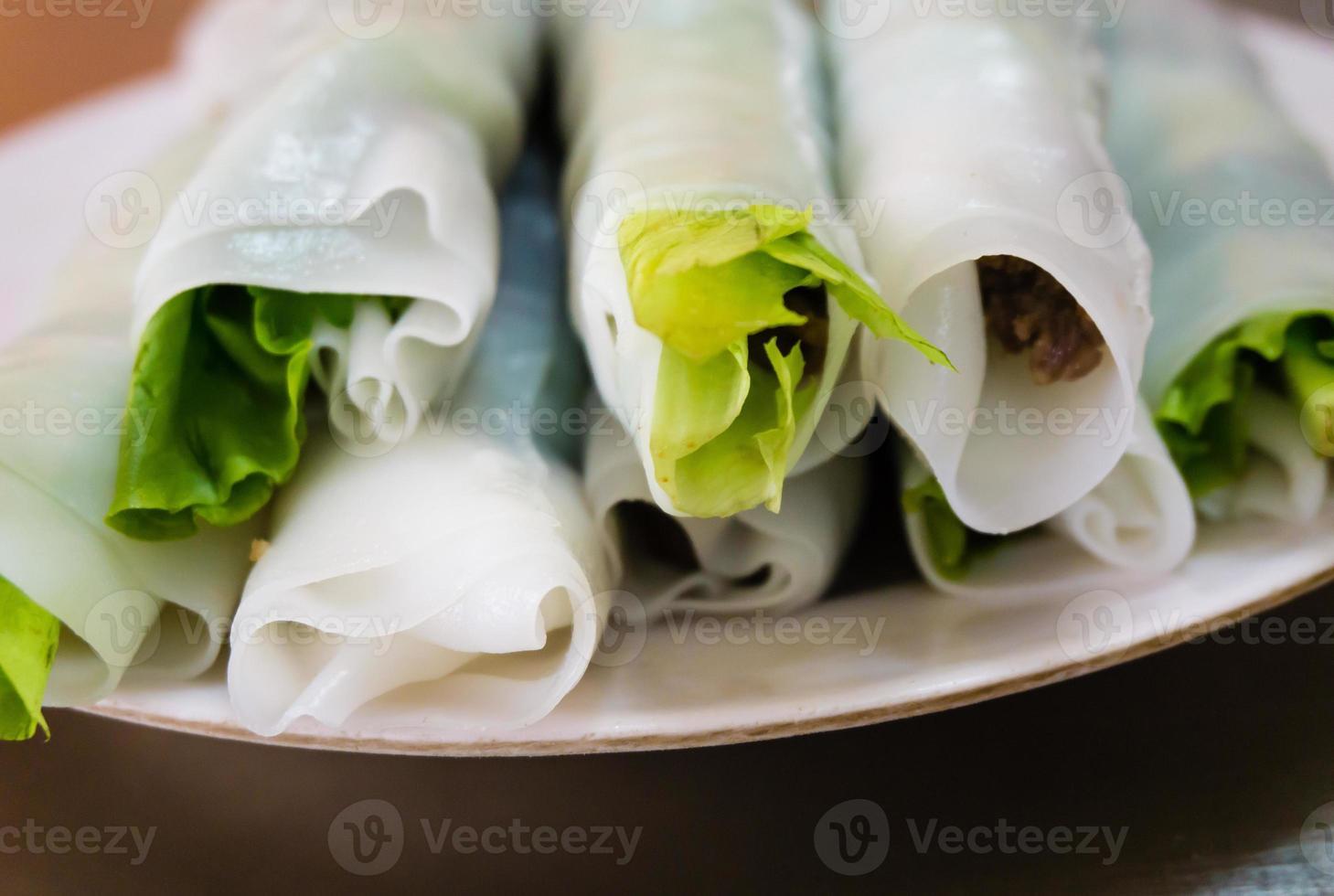gerolde pho bij West Lake - Hanoi - Vietnam foto