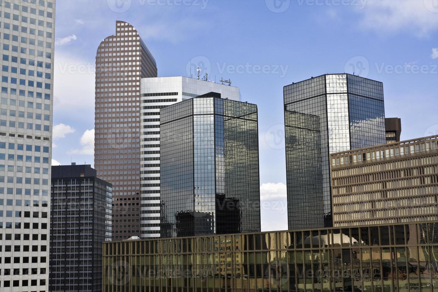 wolkenkrabbers in Denver foto