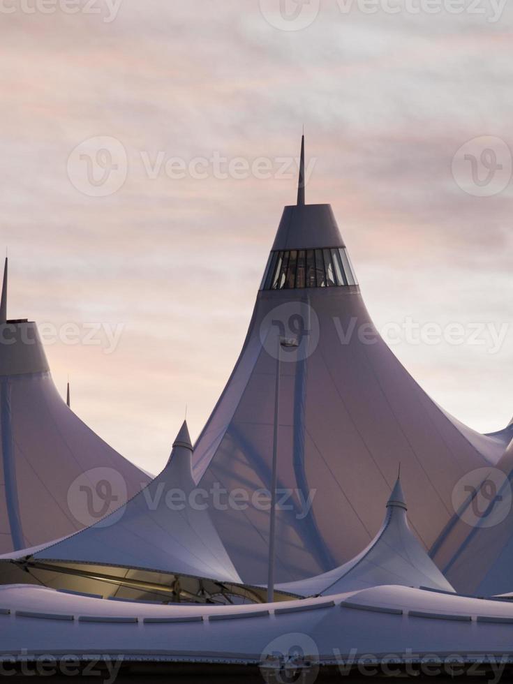 internationale luchthaven van denver foto