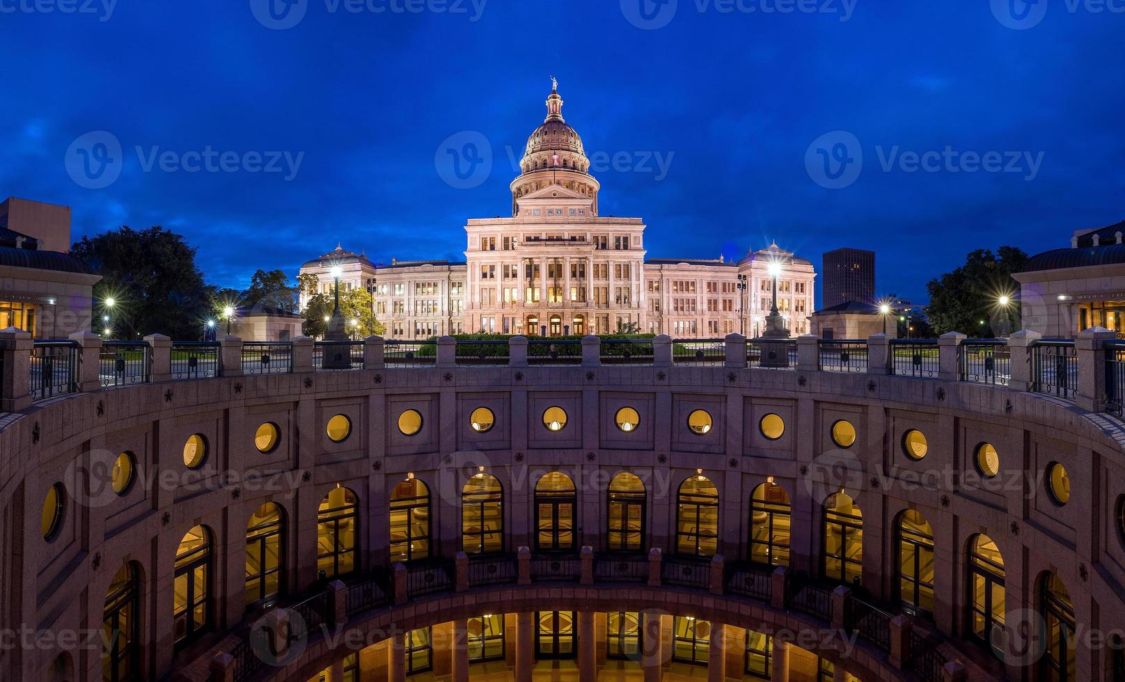 Texas State Capitol Building in Austin, Texas. foto