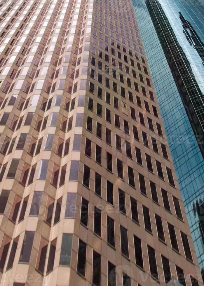 uitgerekt perspectief kantoorgebouwen foto