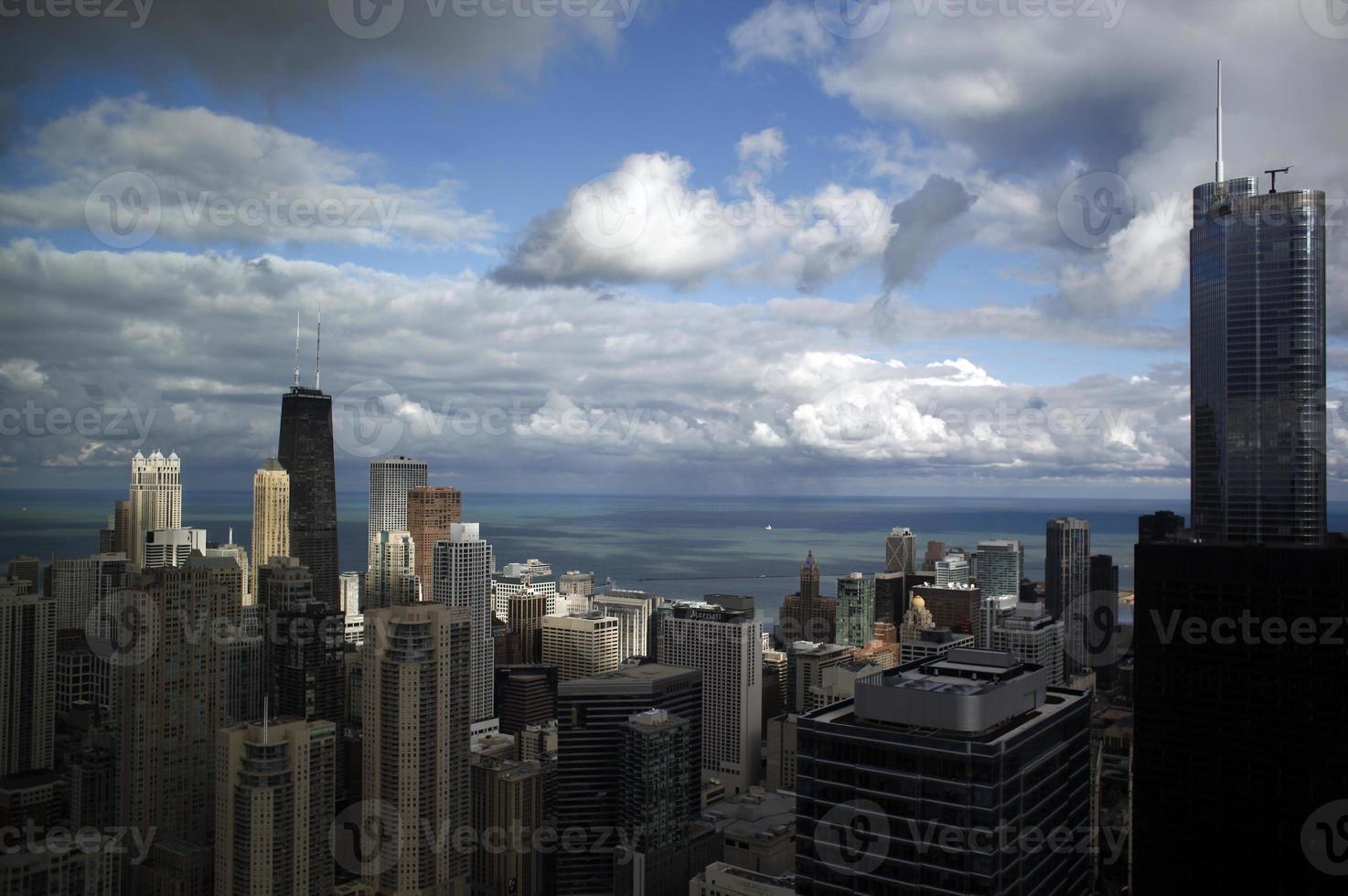 skyline van chicago foto